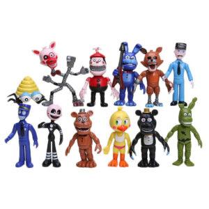 набор 12 персонажей 5 ночей с фредди