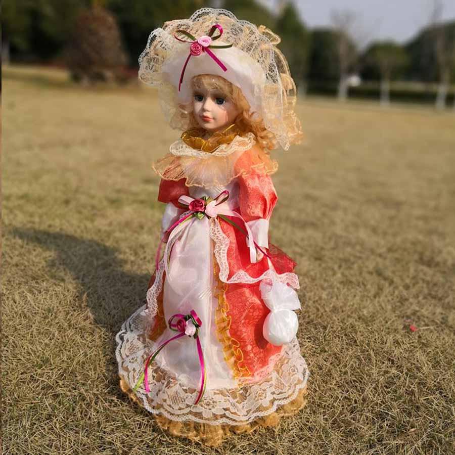 Фарфоровая кукла Екатерина