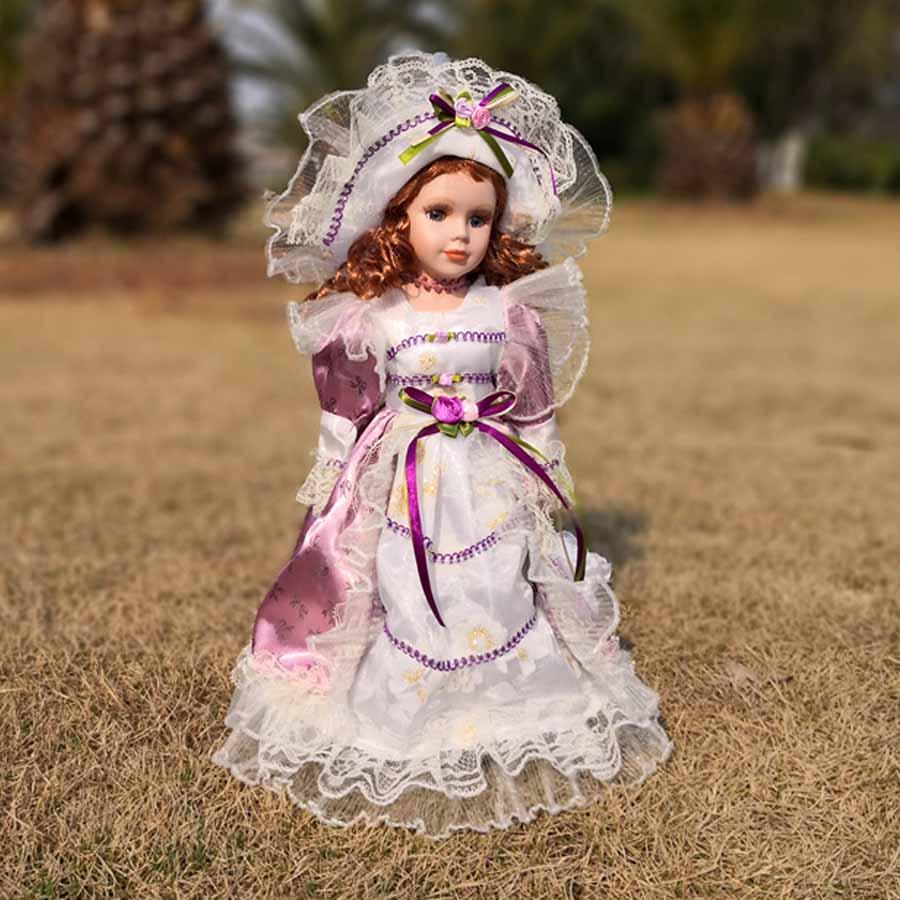 Фарфоровая кукла Глория