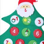 адвент календарь елочка