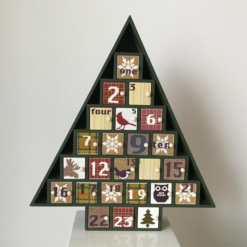 Адвент календарь Новогодняя елка