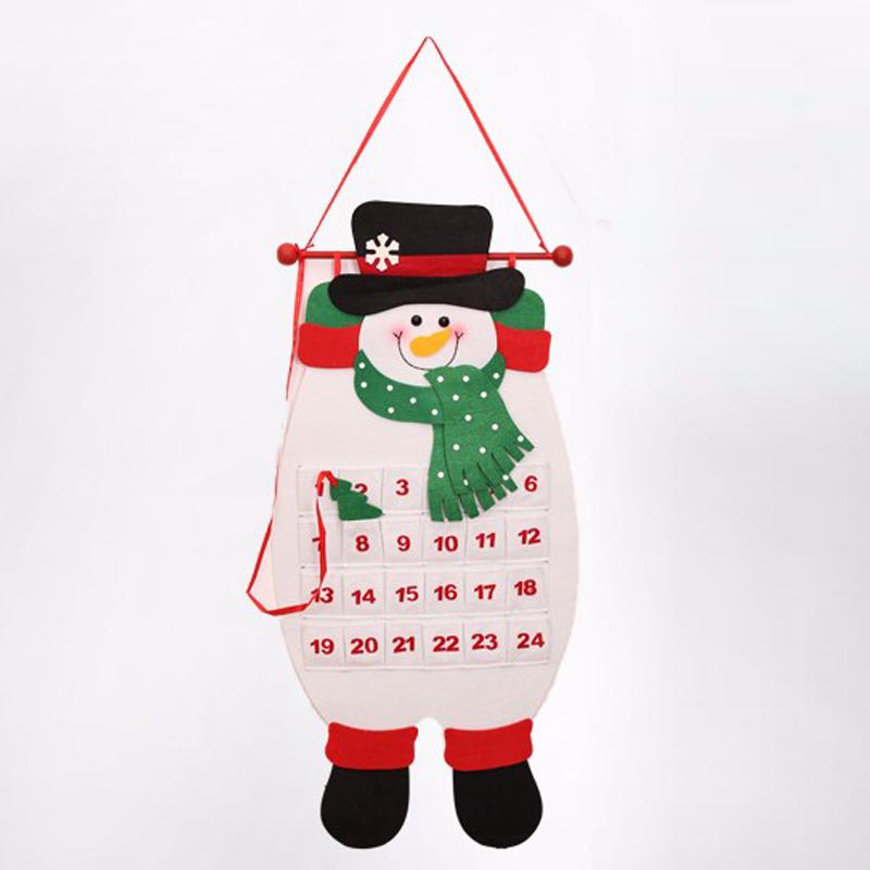 Адвент календарь Снеговик