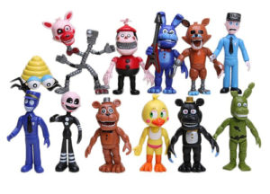 Набор игрушек 5 ночей с Фредди 12 персонажей