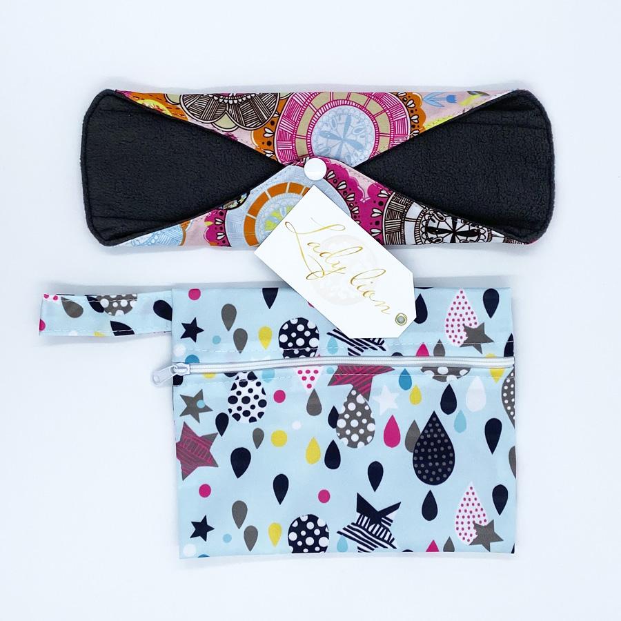 Многоразовая прокладка с сумочкой
