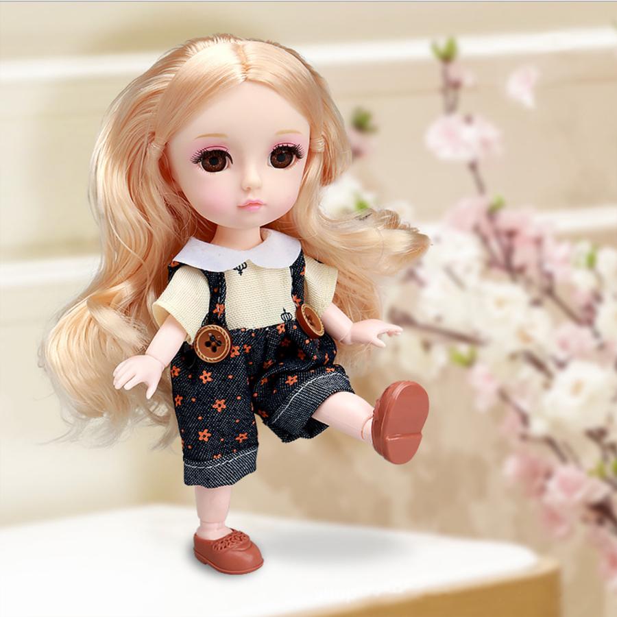 """Кукла шарнирная """"Сэнди"""", 16см"""